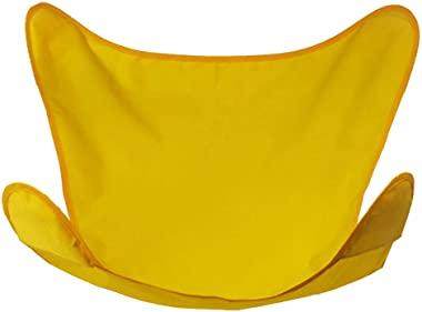 Algoma 4916-53 Replacement Covers for the Algoma Butterfly Chairs, Yellow/Sunny Gold