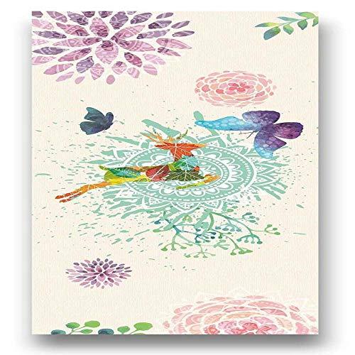 Estera de Yoga Mujeres Impresión Yoga Mat Toalla Portátil Al Aire Libre Playa Ejercicio Mat Gimnasio Pilates Entrenamiento Meditación Manta Toalla De