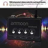 Immagine 1 ammoon amplificatore per cuffie portatile