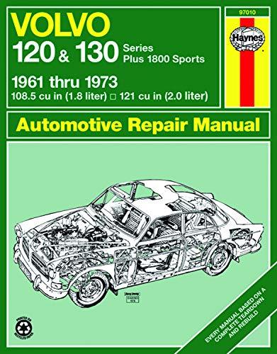 Volvo 120 & 130 Series (and P1800) (61 - 73) Haynes Repair Manual