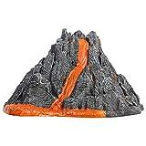 heling896 Vulkanausbruch Modell, Vulkan Modell Spielzeug Simulation Vulkan Spielzeug für Kinder, Vivid Vulkan Modell, Home Decor Science Experiments Play Kit -