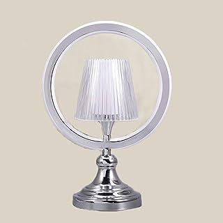 DYY Tischlampe Schlafzimmer Nachttischlampe, kreative einfache Moderne Persönlichkeit warmen warmen warmen Nordic Nachttischlampe, romantische Hochzeit Zimmer Lampe,Silber,Einheitsgröße B07G97BGXL  Stimmt 9f6805