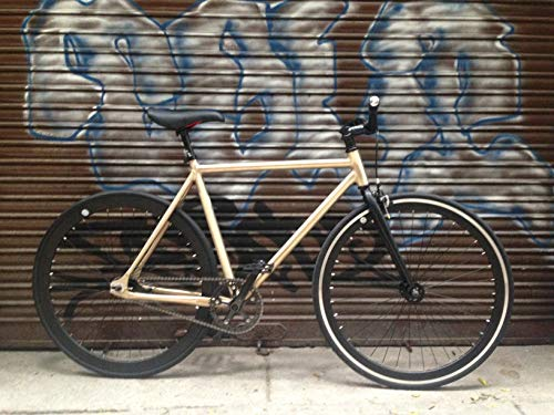 Mowheel Bicicleta Monomarcha Aluminio Single Speed Talla 54cm