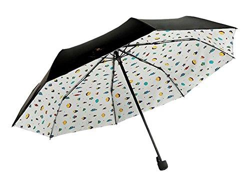 Parapluie manuel de protection UV pliable