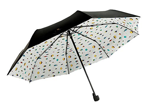 Parapluie manuel de protection UV pliable