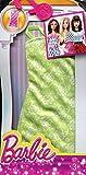 Barbie Fashion Dress - Mint Green Floral Dress