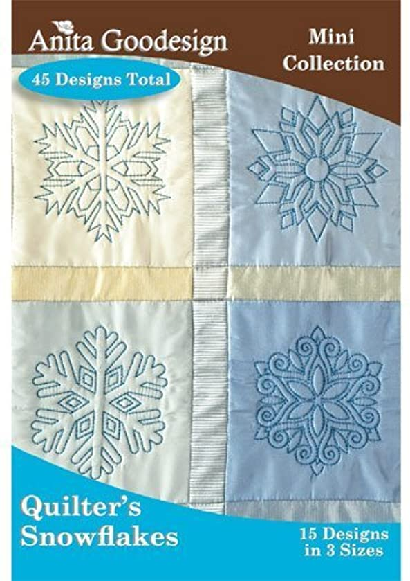 Anita Goodesign Embroidery Cd Quilters Snowflakes