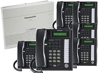 Panasonic KX-TA824-PK6 (KX-TA824, 6 KX-T7731) Packages Black