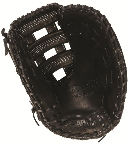 Spalding Pro-Select Series 12.75' Dual Cross Bar First Base Glove (left handed thrower)