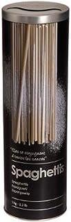 Boite alimentaire - Relief II - spaghetti - 8.5 x 27 cm - Fer et étain - Noir