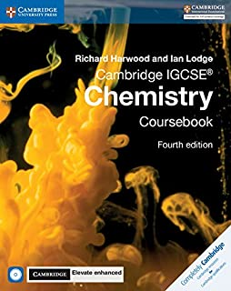 Cambridge IGCSE® Chemistry Coursebook with CD-ROM and Cambridge Elevate Enhanced Edition (2 Years)