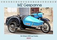 MZ-Gespanne - Ein Stueck DDR auf Kuba (Tischkalender 2022 DIN A5 quer): Motorraeder der Marke MZ mit Seitenwagen in Kuba (Monatskalender, 14 Seiten )