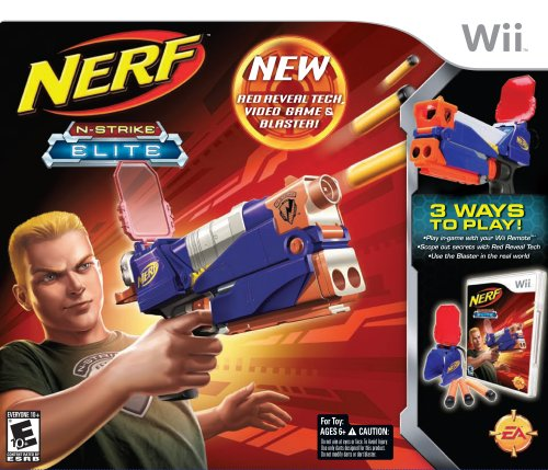 Nerf N-Strike Elite Bundle - Nintendo Wii (Bundle) by Electronic Arts