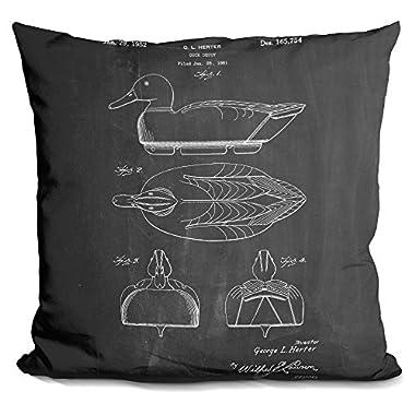LiLiPi Duck Decoy Decorative Accent Throw Pillow