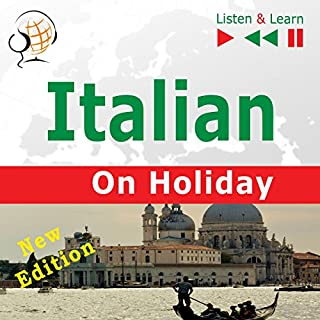 Italian on Holiday - In vacanza - New edition. Proficiency level B1-B2 audiobook cover art