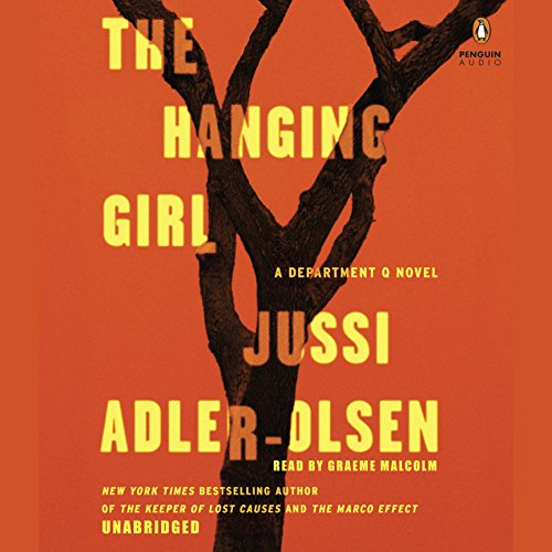 The Hanging Girl     A Department Q Novel              Auteur(s):                                                                                                                                 Jussi Adler-Olsen                               Narrateur(s):                                                                                                                                 Graeme Malcolm                      Durée: 15 h et 37 min     9 évaluations     Au global 4,8