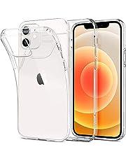 Spigen Funda Liquid Crystal Compatible con iPhone 12 y Compatible con iPhone 12 Pro - Transparente