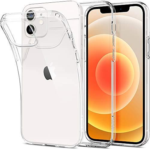 Spigen Liquid Crystal Designed for iPhone 12 Case (2020) / Designed for iPhone 12 Pro Case (2020) - Crystal Clear