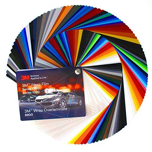 Farbfächer 3M Wrap Film 2080 Di-Noc 8900 580E Scotchcal 80 100/983/180 Folie Autofolie Werbung (Farbfächer 3M Wrap Film 1080/8900)