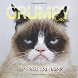 Grumpy Cat Calendar 2021-2022: Great 18-month Mini Grid Calendar from Jan 2021 to Jun 2022 for all fans!!!