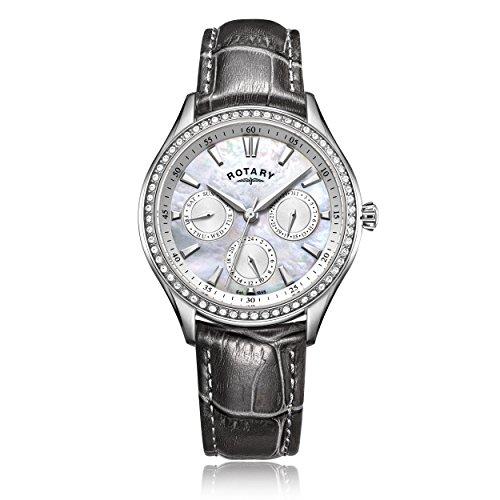 Rotary Reloj Análogo clásico para Mujer de Cuarzo con Correa en Cuero LS05056/07