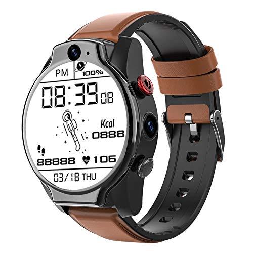 Gulu 1.6 Pulgadas Smart Watch Android 10 4GB 64GB 5ATM Impermeable 13MP Cámara Dual 1100mAh Batería Grande 4G GPS WiFi Smartwatch