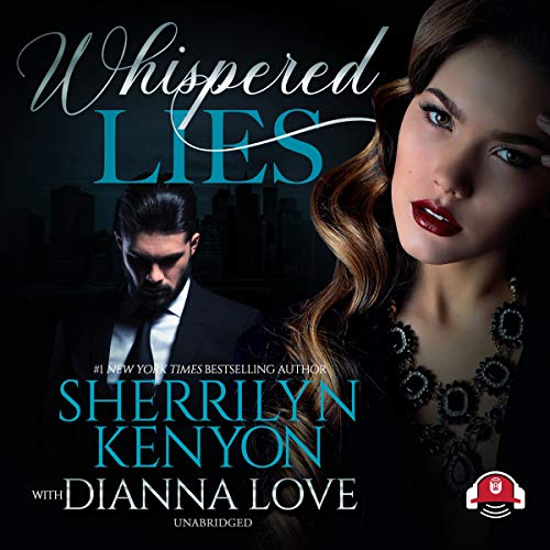 Whispered Lies audiobook cover art