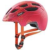 uvex Finale jr. CC Casco de Bicicleta, Juventud Unisex, Red Orange Mat, 51-55 cm