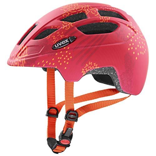 Uvex Unisex Jugend, finale jr. cc Fahrradhelm, red orange mat, 51-55 cm