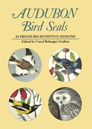 Audubon Bird Seals: 24 Pressure-Sensitive Designs (Dover Stickers)