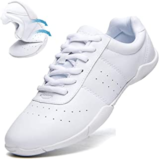 Women's Athletic Training White Cheerleading Shoes