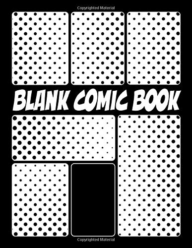 Blank Comic Book: Create Your Own Comics | Rounded Panels | Blank Comic Book Draw Your Own Comic Strips for Teens Kids and Adults with 110 Variant ... Anime Book | Draw-it-yourself | Dot Cove