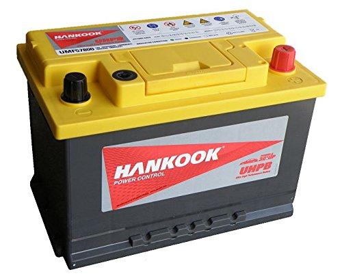 Hankook 74Ah Batería coche Varta E11/E 44-12 V 78Ah 790CCA