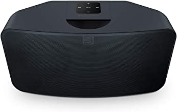 Bluesound Pulse Mini 2i Compact Wireless Multi-Room Smart Speaker with Bluetooth - Black - Compatible with Alexa and Siri