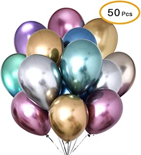 50pcs/Set Multi Color Foil Balloon Party Supplies Banner Paper Garland For Happy Birthday Party Decoration Kids Baby Party...