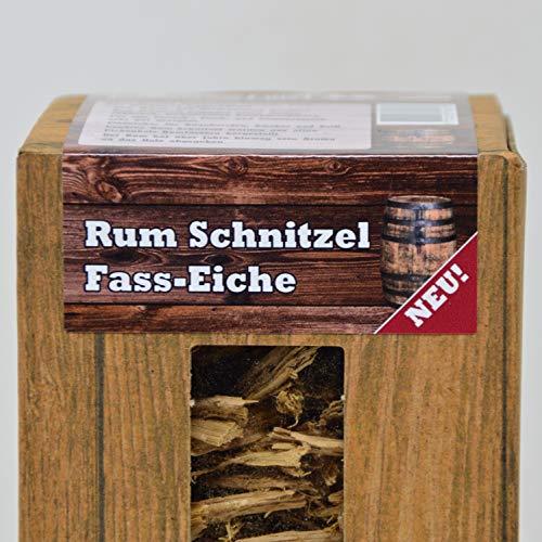 Landree Rum/Whisky/Wein - Räucherschnitzel 1,5L aus Original Fass-Eiche Barrel-Cuttings (Rum)