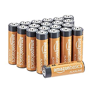 AmazonBasics AA 1.5 Volt Performance Alkaline Batteries - Pack of 20 (Appearance may vary) (B00NTCH52W) | Amazon price tracker / tracking, Amazon price history charts, Amazon price watches, Amazon price drop alerts