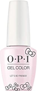 OPI Hello Kitty Gel Nail Polish Collection, Gel Color, Let's Be Friends!
