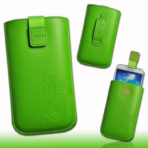 Funda Bolsillo Funda Carcasa de piel verde DK13Talla 3para Huawei Honor/Huawei Ascend...