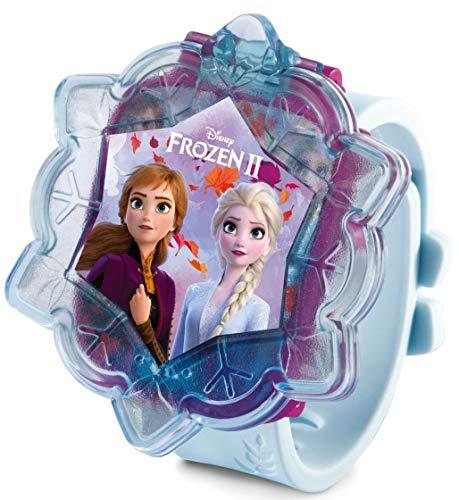 Vtech - Frozen 2 Preschool watch - Interactief Horloge -  Bevat wekker, stopwatch, timer en 4 ingebouwde spellen - Met de stemmen van Elsa, Anna en Olaf