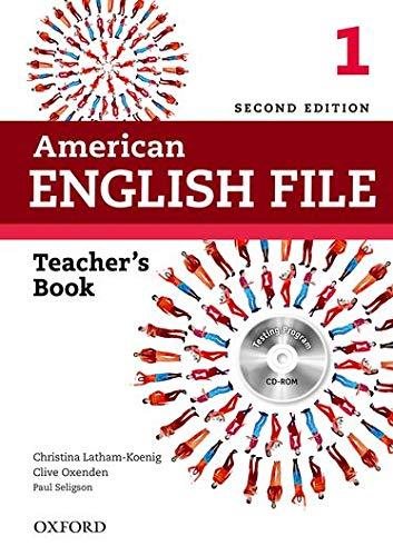American English File. Teacher's Book (+ Testing Program/CD-Rom): With Testing Program
