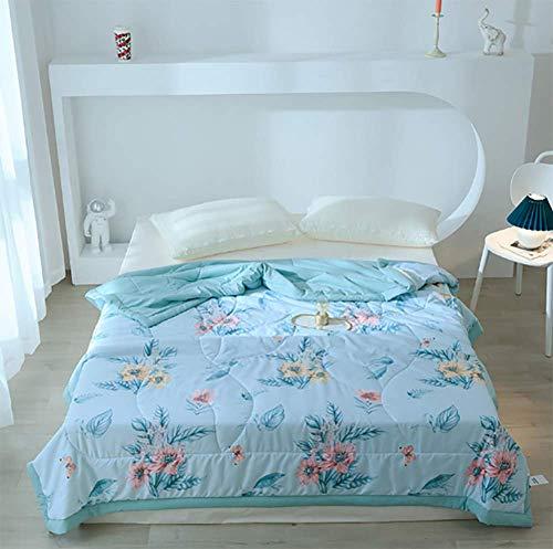 DPPD Cartoon children summer bed quilt washable air conditioning duvet quilt travel siesta blanket student summer quilt,C,200 * 230cm