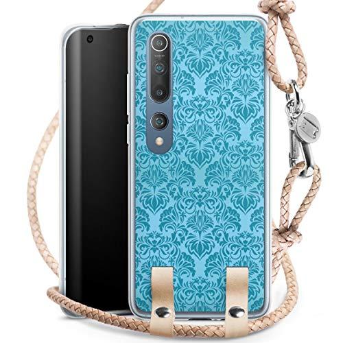 DeinDesign Carry Case kompatibel mit Xiaomi Mi 10 Hülle mit Kordel aus Leder Handykette zum...