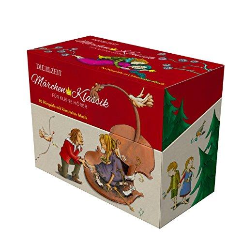 Märchen-Klassik für kleine Hörer, 10 CD-Box mit Ausmalbuch: 20 Märchen mit Musik (10 CDs und Ausmalbuch) (Märchen-Klassik für kleine Hörer Die ZEIT-Edition)