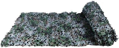 DLLzq Filet De Camouflage Militaire Bache De Prougeection Solaire Filet De Camouflage pour La Chasse Aux Toiles d'Oxford pour La Chasse Au Camping sous Tente,6M×8M