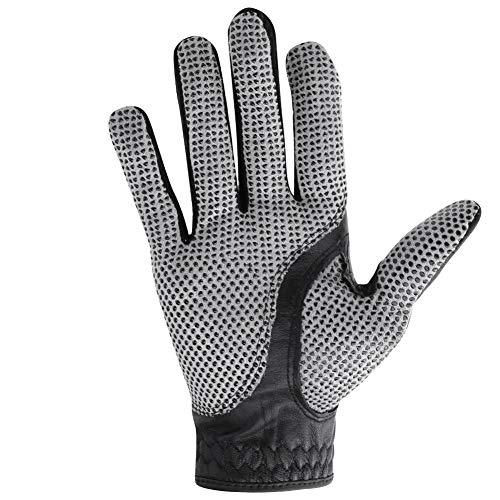 Alomejor Golfhandschuhe Herren Golfhandschuh für rechts- oder linkshändige Golfer Allwetter-abwaschbare Golfhandschuhe(rechte Hand 26)