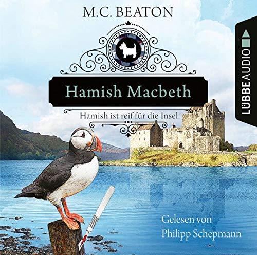 Hamish Macbeth ist reif für die Insel cover art