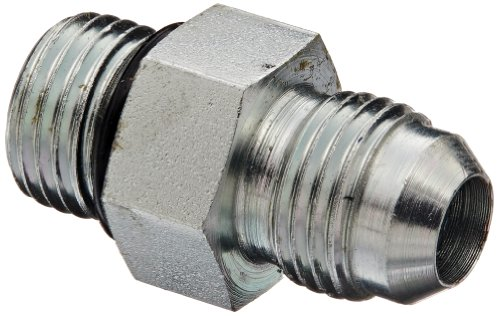 Eaton Weatherhead C5315X6 Carbon Steel SAE 37 Degree (JIC) Flare-Twin Fitting, Adapter, 3/8