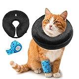 AILITRADE Collares de perro básicos inflables para perros pequeños, cachorros y gatos, cómodo collar de recuperación de mascotas