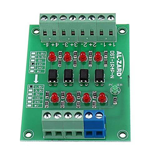 BINGFANG-W Driver del Motore 12V a 1.8V / 5V / 3.3V / 24V 4 canali accoppiatore Ottico Isolamento Bordo Isolato Modulo di Uscita PNP PLC Segnale Livello convertitore di Tensione - 5V Module Stampante